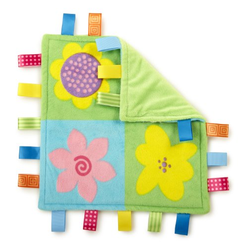 Taggies Colors Blanket, Full Bloom front-585686