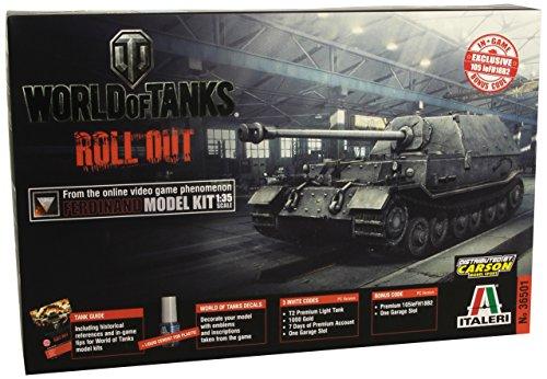 World of Tanks Modellino Carro armato Ferdinand Sd.Kfz.184 Scala 1:35
