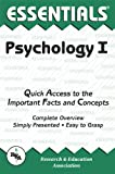 img - for Psychology I Essentials (Essentials Study Guides) book / textbook / text book