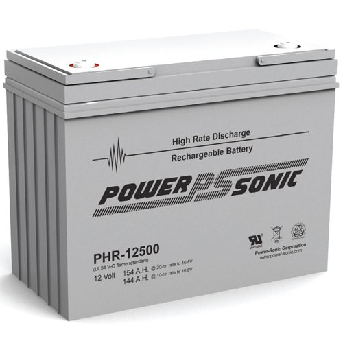 Power-Sonic 12V 508W/Cell Ups Battery - Phr-12500