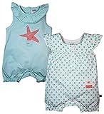 Fs Mini Klub Girls' Regular Fit Romper- Pack of 2 (88Egoro0310 Multi_5-9 - 12 Months, Multi-Coloured, 9 - 12 Months)