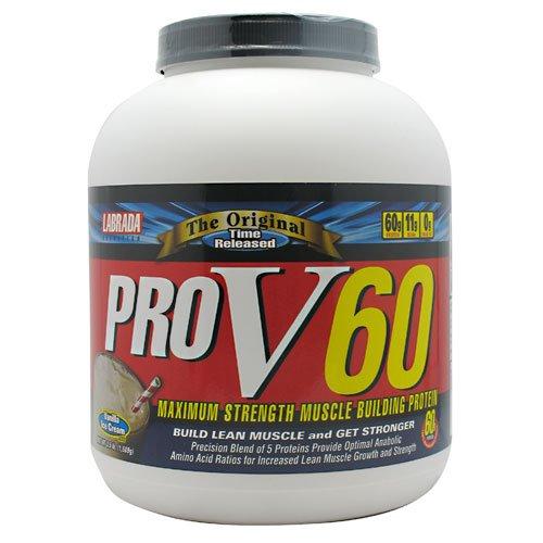 Pro V60, Vanilla Ice Cream, 3.5 Lbs, From Labrada