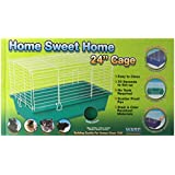 Ware Manufacturing 24-Inch Plastic Home Sweet Home Small Pet Cage, Medium , Colors may vary