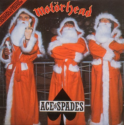 Ace Of Spades - Christmas Edition - 2-Track CARD SLEEVE - 1) Ace Of Spades 2) Dirty Love - 	CDSINGLE