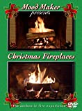 Christmas Fireplaces DVD - Includes Christmas Music Option and Bonus Fireplace