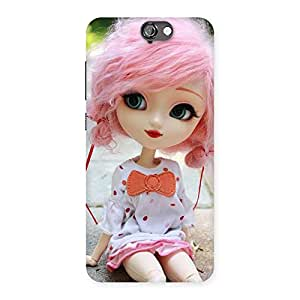 Cute Pink Doll Back Case Cover for HTC One A9