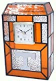 Tennessee Volunteers Stained Glass Clock
