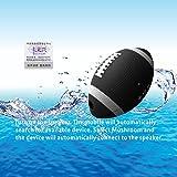KaLaiXing  [IPX7 Waterproof Bluetooth Speakers] Baseball appearance SiRen 5 Watt Driver Portable Wireless Speaker for Outdoor/Shower with Built-in Microphone & Sucker–black