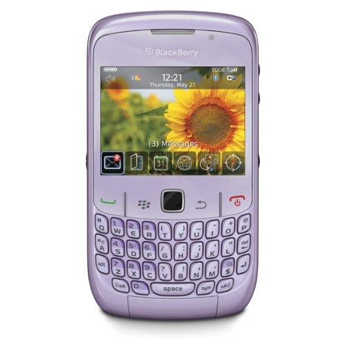 Blackberry Curve 8520 Violet - 1.3 Mega Pixel Mobile Phone Vodafone PAYG Black Friday & Cyber Monday 2014