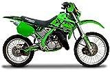 エムディーエフ(MDF) グラフィックキット コンプリートセット ファイアロードモデル グリーン KDX125/SR MKDX125-B-GR-ALL