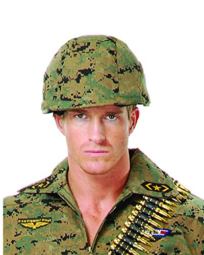 Deluxe Adult Costume Accessory Digital-Camouflage Army Soldier Helmet