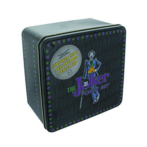 Paladone - Set da poker motivo Joker DC Comics