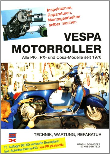 vespa px 125 lekt re ber die technik wartung reparatur von vespa motorroller. Black Bedroom Furniture Sets. Home Design Ideas
