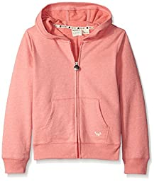 Roxy Big Girls Ultimate Rx Hoodie Tea Rose, X-Small