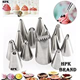 Hpk-12-Icing-Piping-Nozzle-Pastry-Fondant-Cake-Decorating-Sugarcraft-Tips-Tool-Set