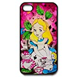Alice in Wonderland iphone 4 4s Hard Plastic Back Cover Case