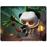 Ting League of Legends Heros The Swift Scout Teemo Mouse Mat Pad (XL(350x275x5mm))
