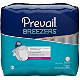 Prevail Breezers Adult Briefs, Extra Large, 15 Count (Pack of 4)