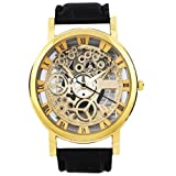 SWC Designer golden dial Analogue Men's Watch-SWC 32