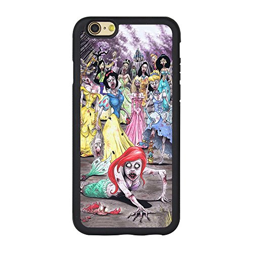 Zombies Princess Iphone 6s Case,Zombies Disney Princess Phone Case for Iphone 6 6s TPU Case