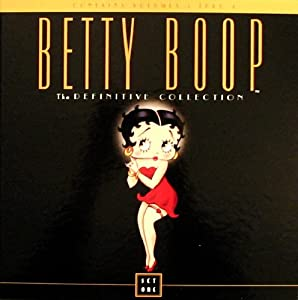 BETTY BOOP: THE DEFINITIVE COLLECTION Vol. 1 [Laserdisc, Box Set]