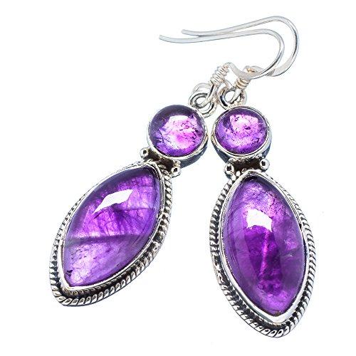Ana Silver Co Amethyst 925 Sterling Silver Earrings 2
