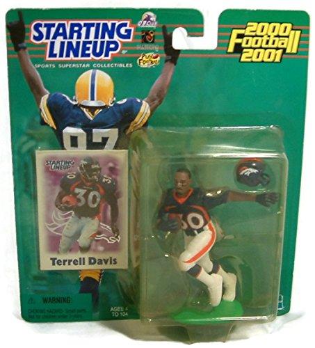 2000-2001 NFL Starting Lineup - Terrell Davis - Denver Broncos