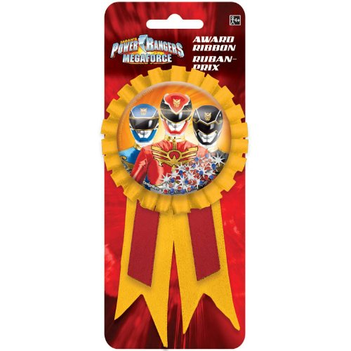 Power Rangers Megaforce Confetti Pouch Award Ribbon - 1