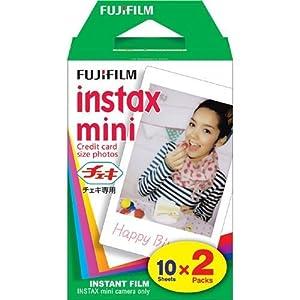 Fujifilm Instax Mini 7S 50S 25 Instant Film - 1 Pack, 20 Prints