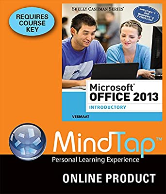 MindTap Computing for Vermaat's Microsoft Office 2013: Introductory, 1st Edition
