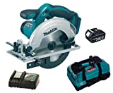 MAKITA 18V LXT BSS611 BSS611Z BSS611RFE CIRCULAR SAW, BL1830 BATTERY, DC18RC CHARGER AND LXT400 BAG - PF TRADE