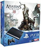 Sony PlayStation 3 500GB Super Slim Console with Assassin's Creed 3
