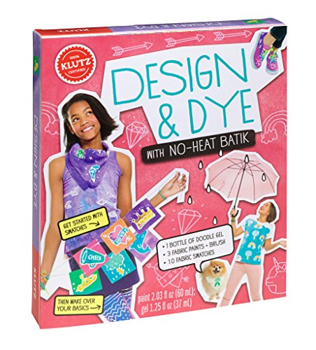 Klutz Design & Dye with No-Heat Batik Craft Kit - 1