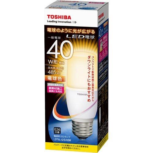 E-CORE LDT6L-G/S/40W [電球色]