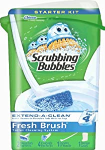 Scrubbing Bubbles Fresh Brush with Storage Unit
