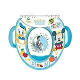 Para bebés Mickey Mouse diseño del pato Donald y de la jollyflush de Mickey y Minnie Mouse suave minoristas de Koolart con diseño de asas con frecuencia bloques de entrenamiento para bicicleta de amortiguación para asiento de que quieras en azul
