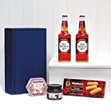 Old Speckled Hen Ale Dunkin Delights Gift Hamper in Blue Gift Box Includes 2 x 500ml Old Speckled Hen Ale