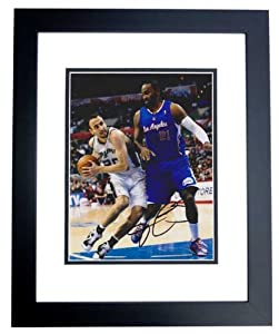 Ronny Turiaf Autographed Hand Signed 8x10 Los Angeles Clippers Photo - BLACK CUSTOM... by Real+Deal+Memorabilia