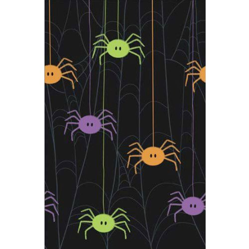 Spider Frenzy 54in x 96in Plastic Tablecover