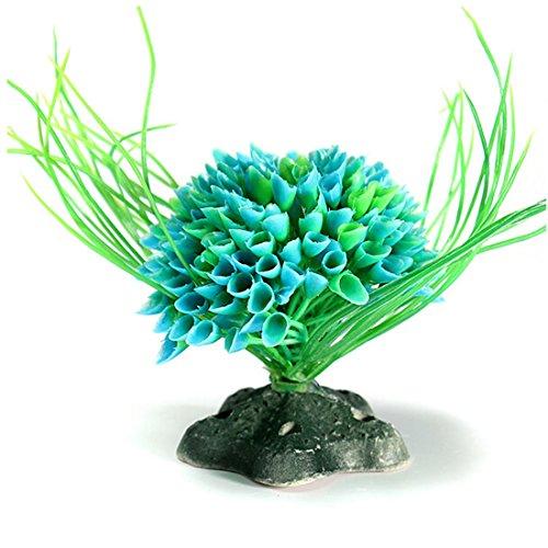 Plante d eau artificielle herbe fish tank d coration for Plante haute artificielle