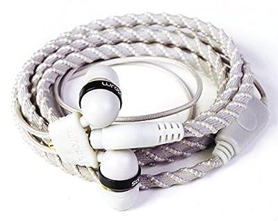 Best Headphones Wrap Bracelet: Easy Wrist Wrap Stores Ear Buds/No Tangled Cords- FUN Fashion Colors!