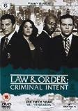 Law & Order: Criminal Intent - Season 5 [Import anglais]