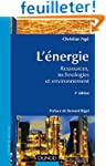 L'�nergie - 3�me �dition - Ressources...