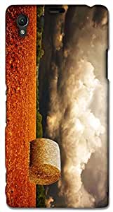 Timpax protective Armor Hard Bumper Back Case Cover. Multicolor printed on 3 Dimensional case with latest & finest graphic design art. Compatible with Sony L39H - Sony 39 Design No : TDZ-28370