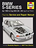BMW 520i 523i 525i 528i 530i 5-Series E39 Haynes Manual 1996-2003