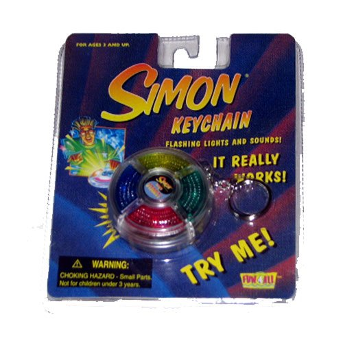 Simon Keychain Mini Hand-Held Game Just Like The Original