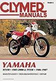 Yamaha XT/TT350 1985-2000 (Clymer Motorcycle Repair)