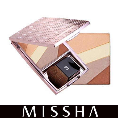 M プリズム マルチブラッシャー M Prism Multi Blusher No.2(ゴールドブラウン)
