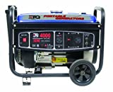 ETQ TG32P12 4,000 Watt 7 HP 207cc 4-Cycle OHV Gas Powered Portable Generator