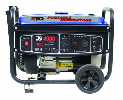 Cheap ETQ TG32P12 4,000 Watt 7 HP 207cc 4-Cycle OHV Gas Powered Portable Generator (TG4000)